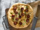 Tomato Focaccia Flatbread recipe