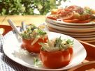 Tomatoes Stuffed with Avocado and Prawns recipe