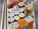Trio of Sushi Rolls recipe