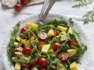 Tropical Fruit Salad with Arugula recipe