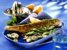 Trout with Herb Mushrooms recipe