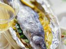 Trout with Vegetables in Foil recipe