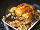 Trussed Turkey Roast with Garlic recipe