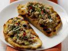 Tuna Salad Toasts recipe