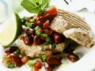 Tuna Steak with Bean Salsa recipe