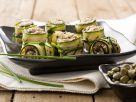 Tuna-stuffed Zucchini Appetizers recipe