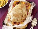 Turkey Filet with Pumpkin and Pomegranate recipe