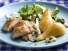 Turkey, Pear and Blue Cheese Salad recipe