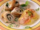 Turkey Rolls Stuffed with Spinach recipe