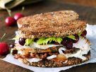 Turkey Sandwiches with Bacon and Cranberry Sauce recipe