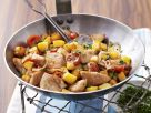 Turkey Sauté with Cherry Tomatoes recipe