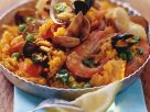 Valencian Rice Dish with Seafood recipe