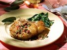 Veal Chops with Spinach recipe