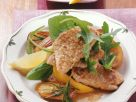 Veal Cutlets with Lemon Sauce and Rosemary Potatoes recipe