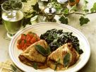 Veal Saltimbocca with Spinach recipe