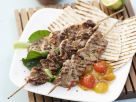 Veal Skewers with Melon Chutney recipe