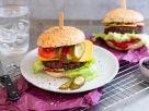 Vegan Cheeseburger with Black Bean Patty recipe