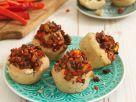 Vegan Muffins with Tofu-Veggie Filling recipe