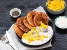 Exotic Vegan Pancakes with Mango recipe