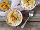 Vegan Rice Pudding with Apple Compote recipe