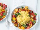 Vegan Risotto with Roasted Bell Peppers recipe