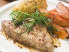 Vegan Steak with Sweetcorn recipe