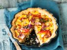 Vegan Tart with Bell Peppers, Onions and Capers recipe
