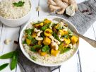 Vegan Thai Curry with Tofu and Rice recipe