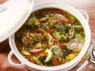 Vegetable Barley Soup with Mushrooms recipe