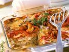 Vegetable Lasagna with Mushroom Sauce recipe
