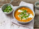 Vegetable-Lentil Stew with Peas recipe