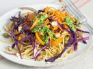 Vegetable Noodles with Parsley Pesto recipe