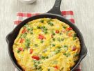 Vegetable Omelet with Penne recipe