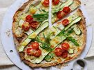 Vegetable Pizzas recipe