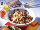 Vegetable Salad with Mussels recipe