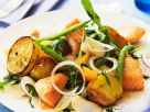 Vegetable Salad with Salmon recipe