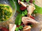 Vegetable Salad with Tuna and Veal recipe