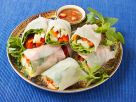 Vegetable Spring Rolls with Rice Paper recipe