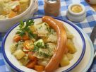 Vegetable Stew with Sausages recipe