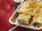 Vegetables and Feta Bake with Yufka Dough (burek) recipe