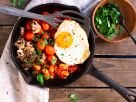 Vegetarian English Breakfast recipe