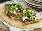 Vegetarian Flatbread Pizza Slices recipe