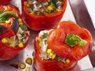 Vegetarian Stuffed Red Peppers recipe
