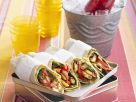 Vegetarian Wraps with Halloumi recipe