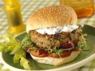 Veggie Burgers with Quark Cream recipe