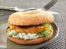 Veggie Patty Bagel Sandwiches recipe