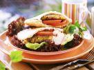 Veggie Pitta Burgers recipe