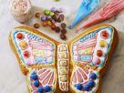 Vivid Butterfly Vanilla Cake recipe