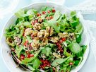 Walnut, Arugula and Pomegranate Salad Bowl recipe