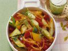 Warm Bell Pepper and Cucumber Salad recipe